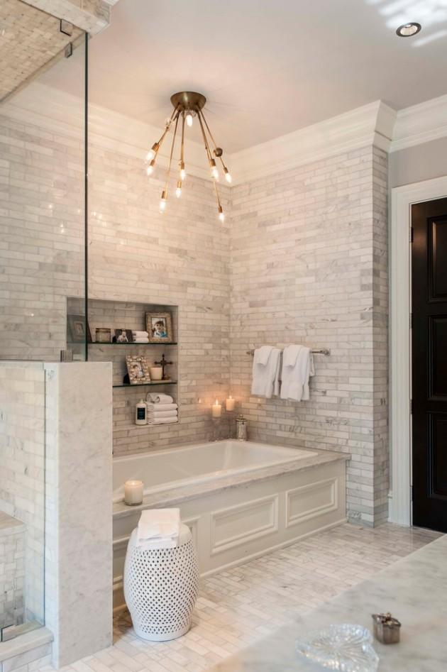 extraordinary beige bathroom designs | 15 Extraordinary Transitional Bathroom Designs For Any Home