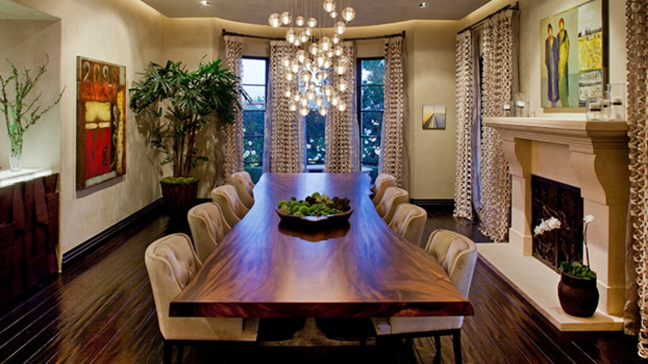 15 High-End Contemporary Dining Room Designs