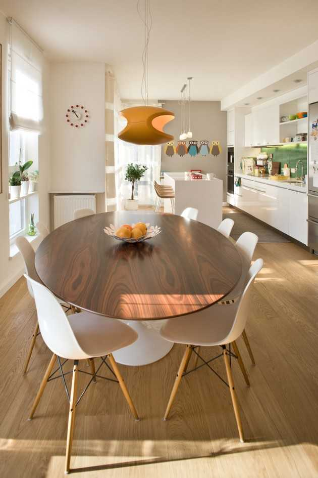 Interior Design For Apartment Kitchen: 15 High-End Contemporary Dining Room Designs