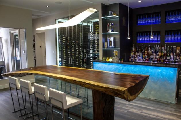 15 High End Modern Home Bar Designs For