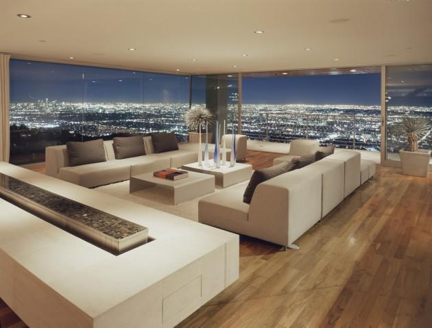 remarkable modern purple living room | 15 Remarkable Modern Living Room Designs You Must See