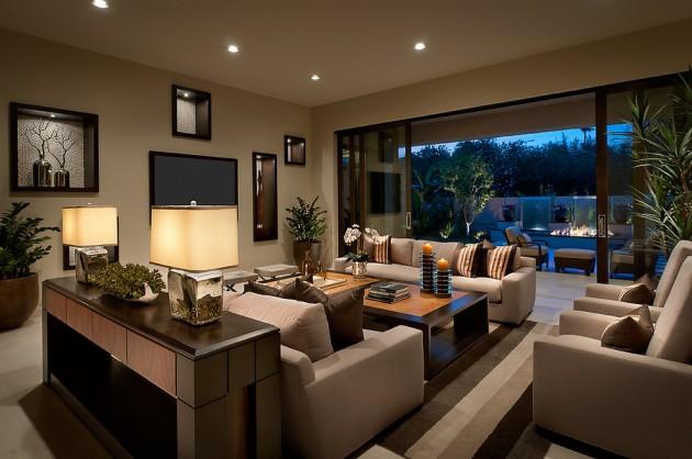 15 Stunning Contemporary Living Room