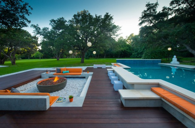 15 tempting contemporary swimming pool designs for How to design a pool