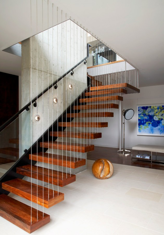 15 Uplifting Modern Staircase Designs For Your New Home