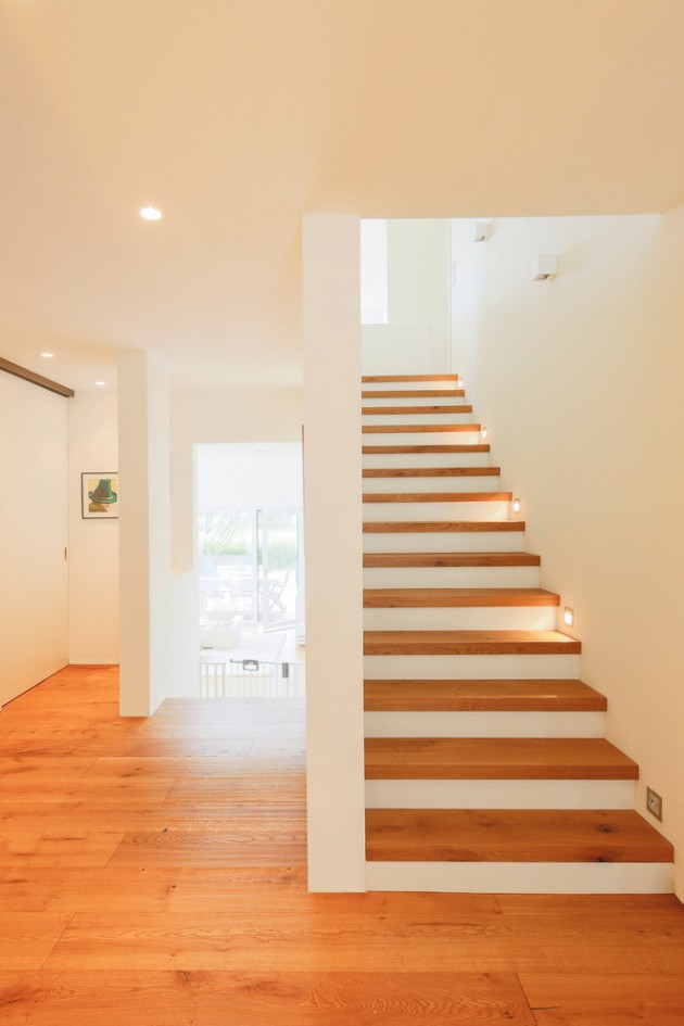 Lighting Basement Washroom Stairs: 15 Uplifting Modern Staircase Designs For Your New Home