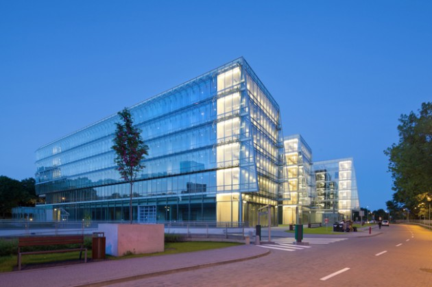 Architecture Pomeranian Science and Technology Park by AEC Krymow & Partners