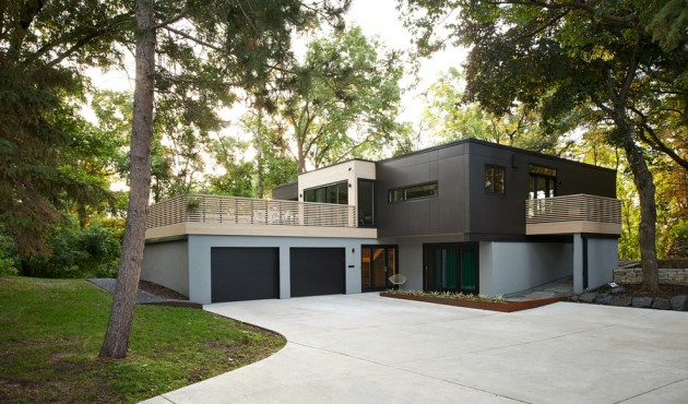 20 unbelievable modern home exterior designs for Immagini case moderne