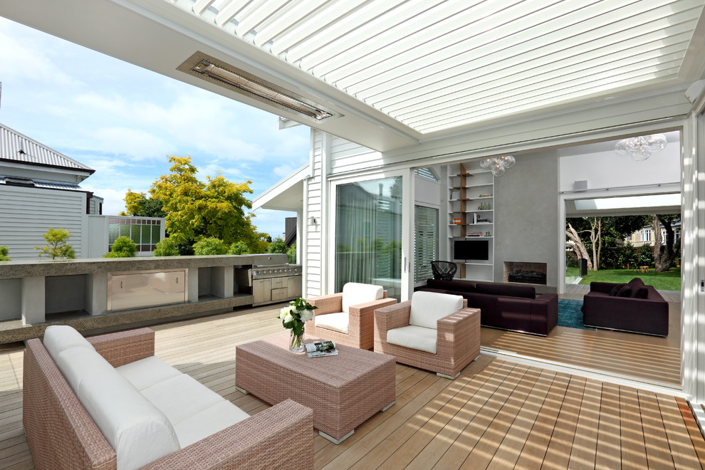 20 Welcoming Contemporary Porch Designs To