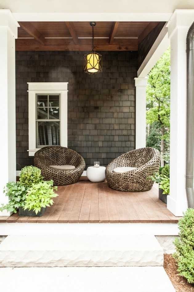 20 Welcoming Contemporary Porch Designs To Liven Up Your Home