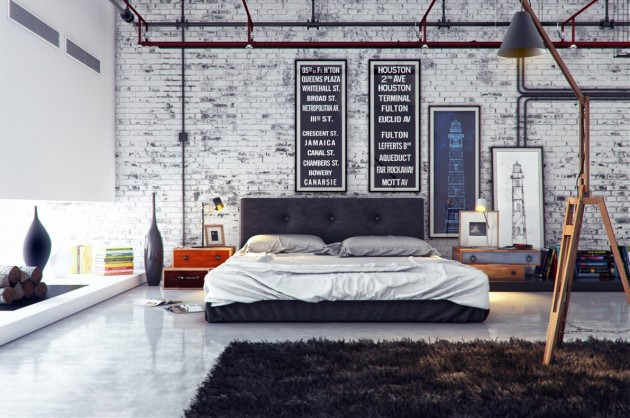 Majestic Concepts For Your Ideal Industrial Bedroom