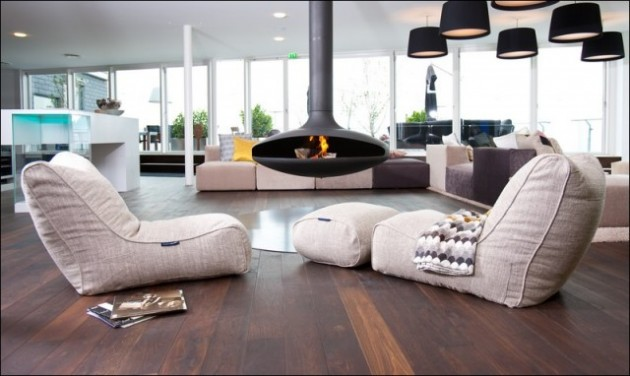 Extra Comfort in Every Room- The Majestic Bean Bag Chair Design