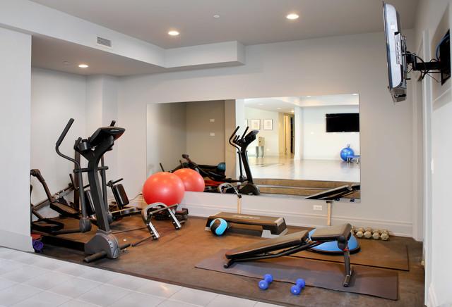 Как создать спортзал дома