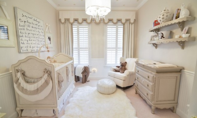 15 Cool and Attractive Baby Nursery Design Ideas