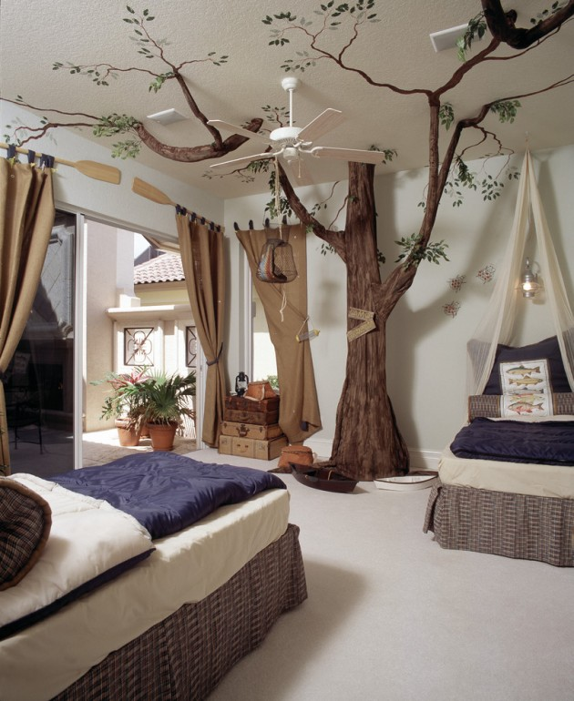 15 Appealing Mediterranean Kids Room Interior Designs