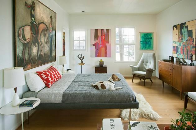 15 Beautiful Vintage Mid Century Bedroom Designs