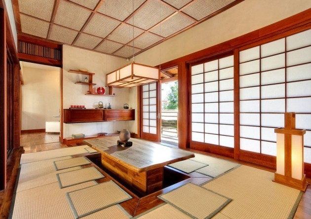 15 Calming Asian Dining Room Designs For Inspiration
