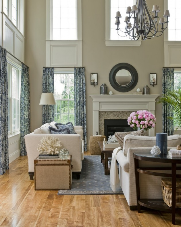 Home Hallway Design Ideas: 15 Classy Traditional Living Room Designs For Your Home