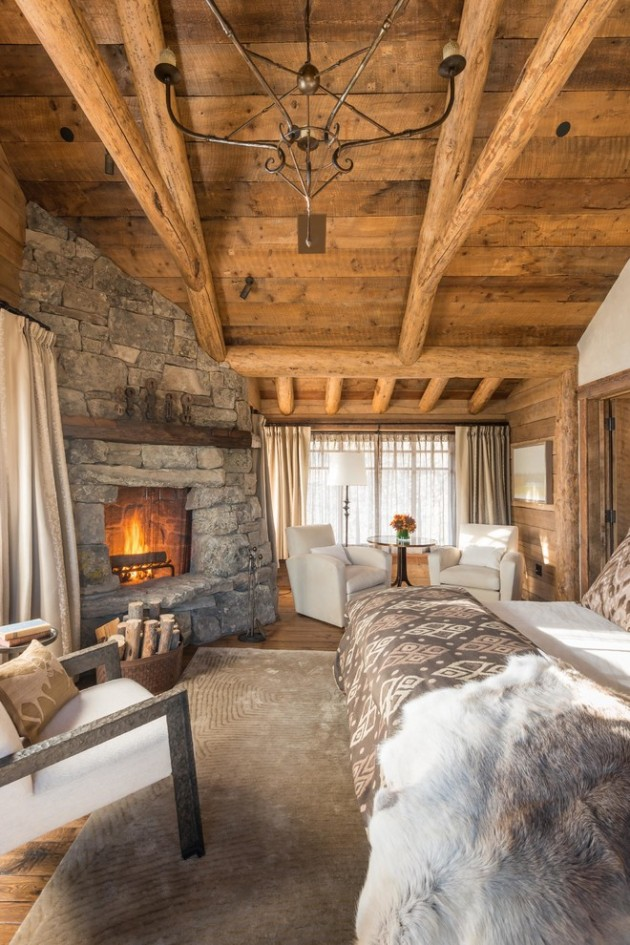 Home Interior Design Ideas: 15 Cozy Rustic Bedroom Interior Designs For This Winter