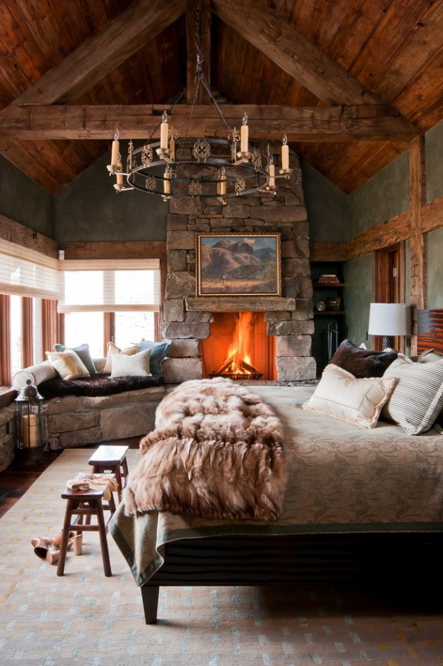 stunning apartment cozy modern bedroom | 15 Cozy Rustic Bedroom Interior Designs For This Winter