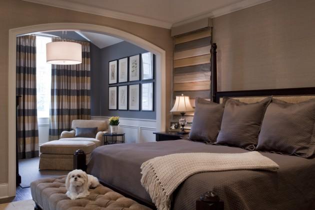 15 Cozy Traditional Bedroom Design & Decoration Ideas