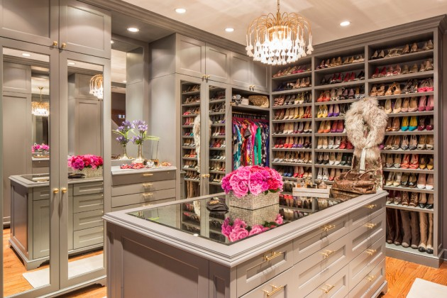 Master Closet Designs 15 elegant luxury walk-in closet ideas to store your clothes in