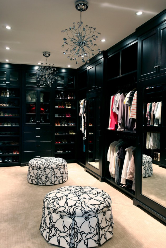 15 Elegant Luxury Walk-In Closet Ideas To Store Your Clothes In That Look Like Boutiques