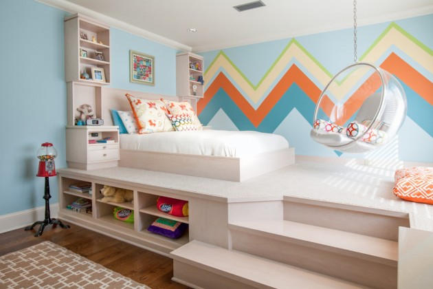 15 Entertaining Contemporary Kids\' Room Designs