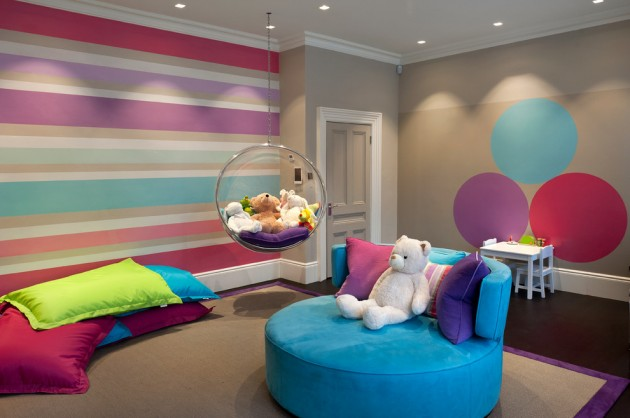 15 Entertaining Contemporary Kids Room Designs