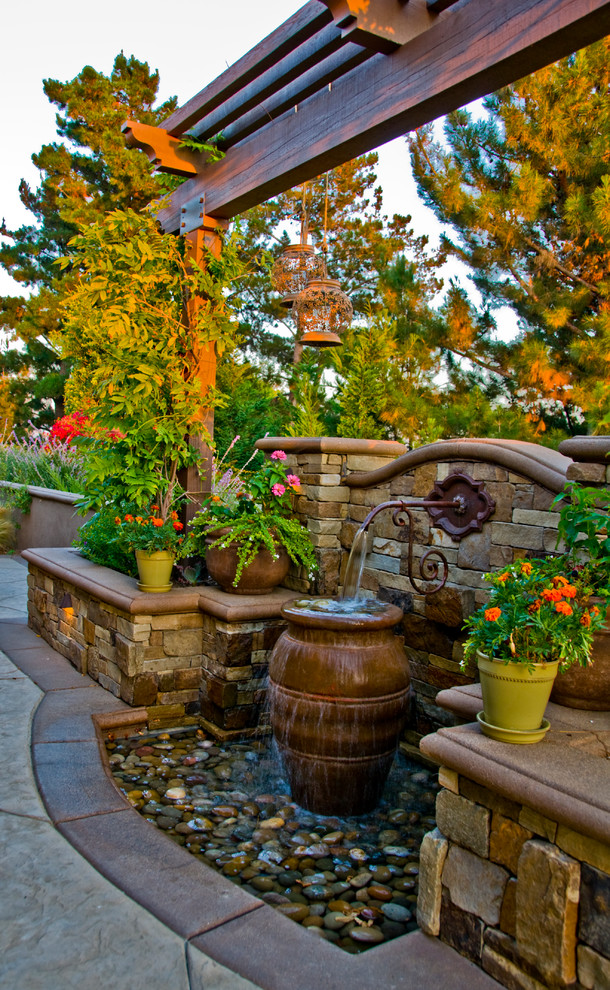15 Ideas For Your Garden From The Mediterranean Landscape ... on Small Mediterranean Patio Ideas id=82154