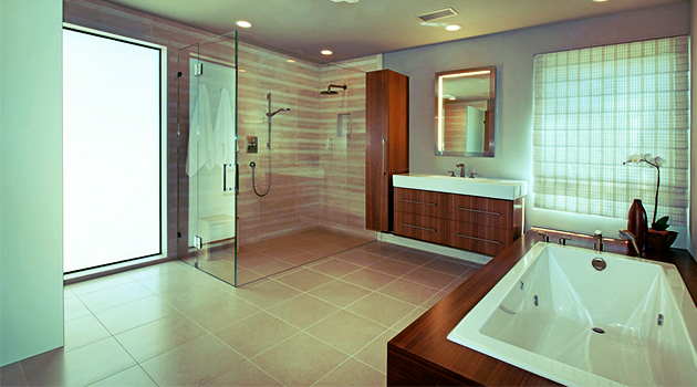 Modern Bathroom Tile Gallery