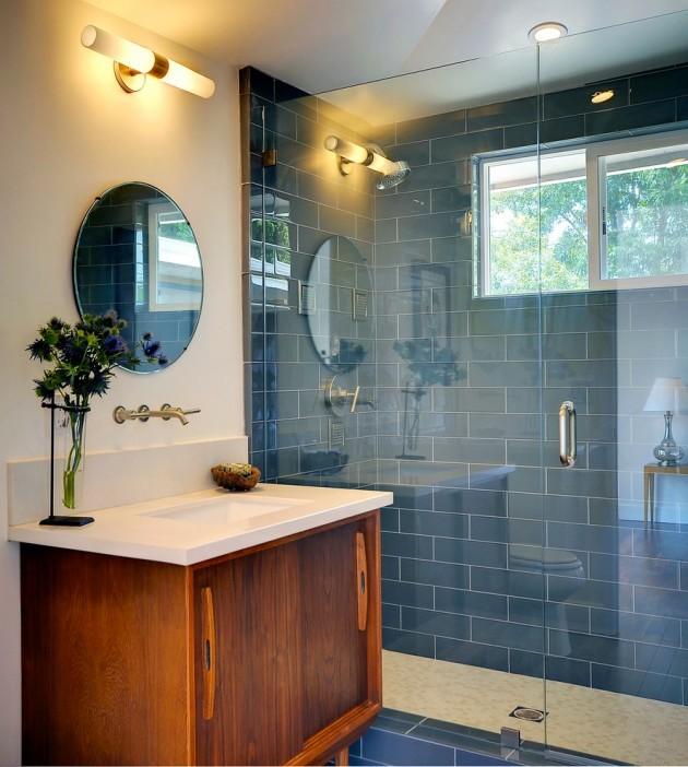 Bathroom Interiordesign Ideas: 15 Incredibly Modern Mid-Century Bathroom Interior Designs