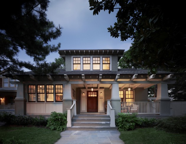 15 Inviting American Craftsman Home Exterior Design Ideas