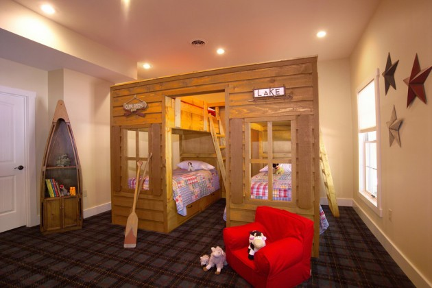 15 Playful Rustic Kids Room Ideas That Your Kids Will Love