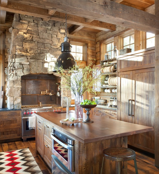 rustic cottage kitchen ideas 15 warm amp cozy rustic kitchen designs for your cabin 4966