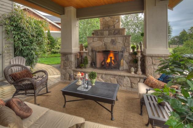 15 Wonderful Traditional Patio Setups For Your Backyard on Back Yard Patios  id=68538