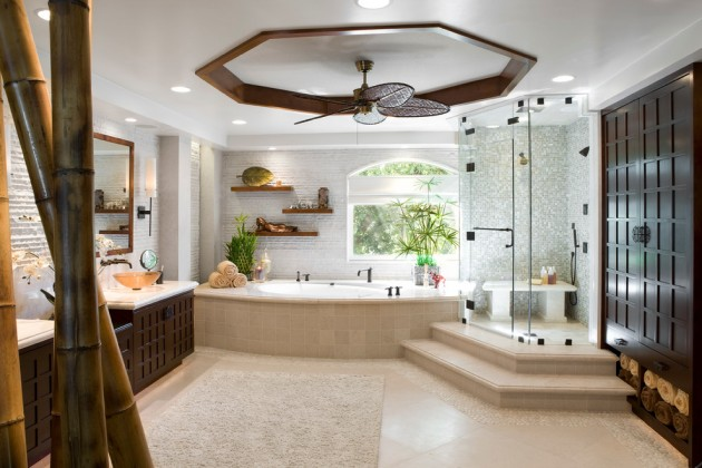15 Inspiring Design Ideas: 15 Zen-Inspired Asian Bathroom Designs For Inspiration