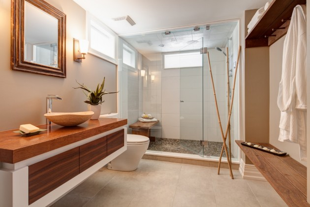 15 Zen Inspired Asian Bathroom Designs For Inspiration