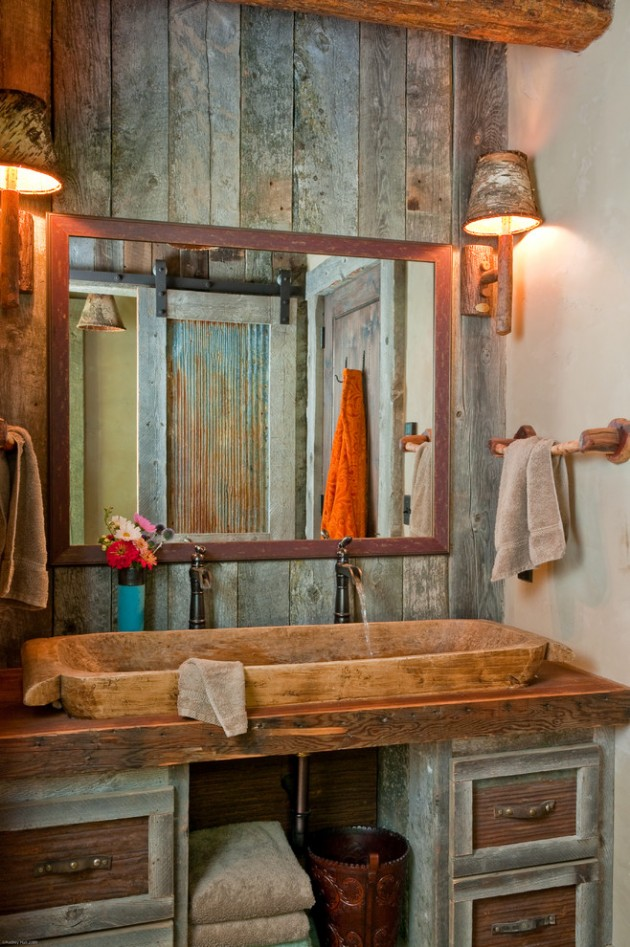 16 Homely Rustic Bathroom Ideas To Warm You Up This Winter