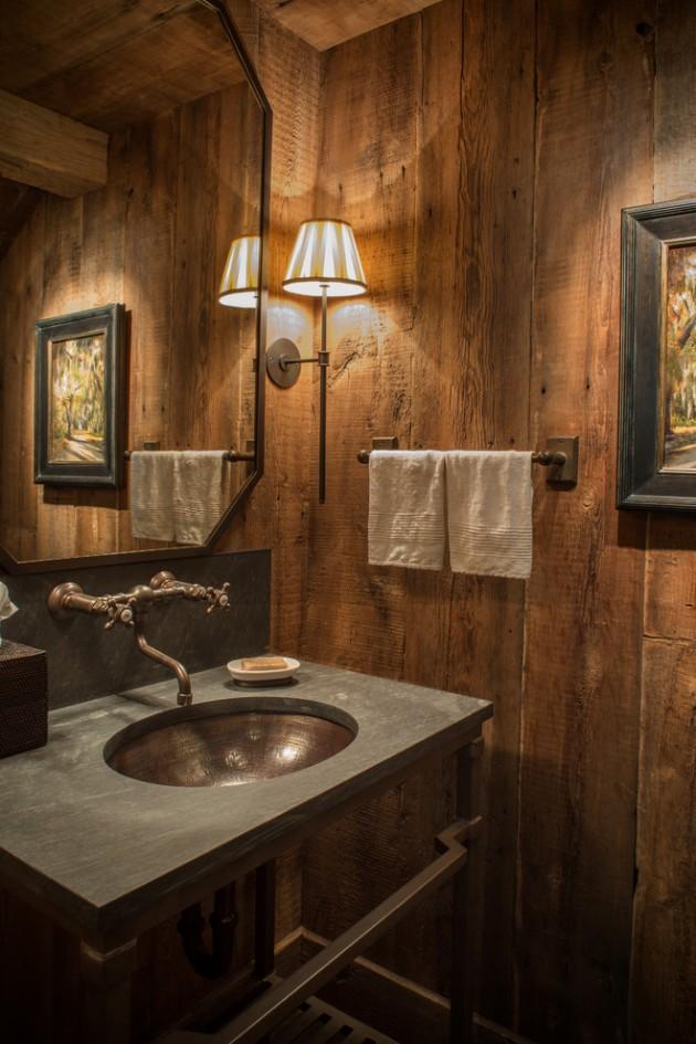 Scandinavian Rustic Living Room