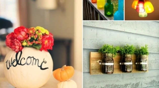 14 Quick & Cheap DIY Home Decorations You Should Try