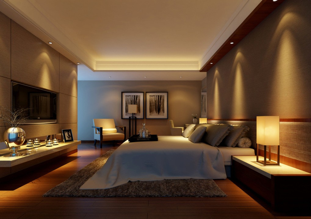 Helpful tips for quality illuminated bedroom for Bedroom designs light
