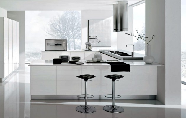 The Charming Beauty of The White Kitchen