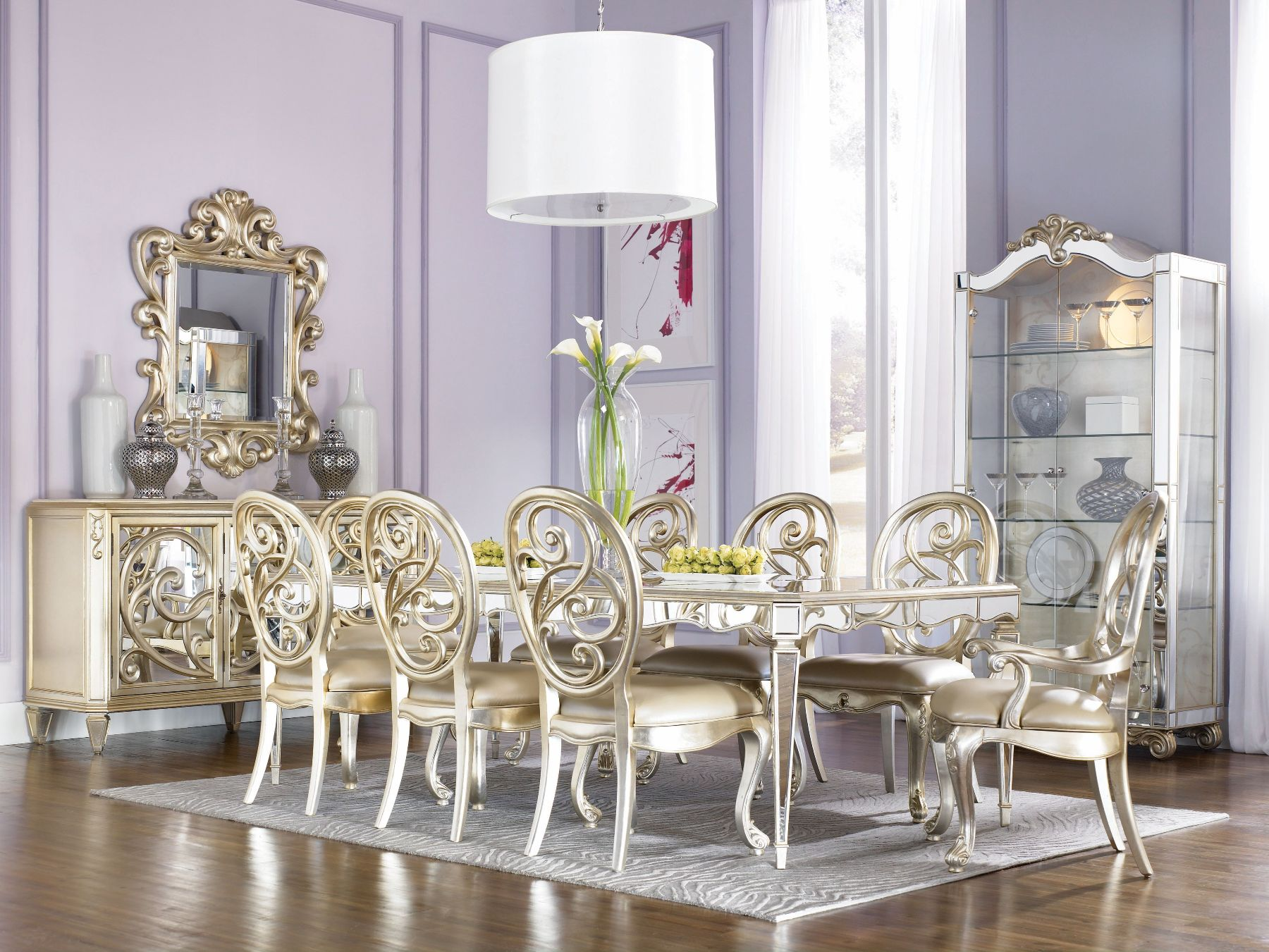 Picture of: Top 12 Astonishing Luxury Dining Room Ideas That Wows