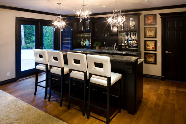 19 Fancy Home Bar Designs For All Fans