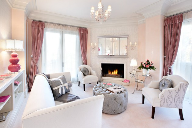 17 Fantastic Ideas How To Decorate Feminine Living Place