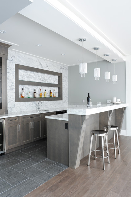 19 Fancy Home Bar Designs For All Fans of the Modern Living
