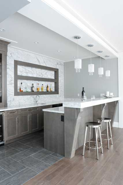 19 fancy home bar designs for all fans of the modern living. Black Bedroom Furniture Sets. Home Design Ideas