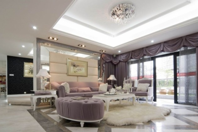 Extraordinary Luxury Living Room Ideas Which Abound with Glamour and Refinement