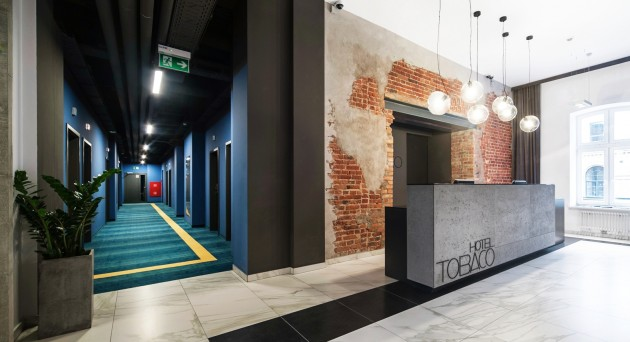 The Tobaco Hotel in Lodz by EC 5 Architects