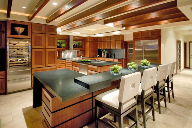 17 Magnificent Wooden Kitchen Design Ideas for Warm Atmosphere